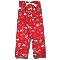 Boxercraft Women's Wisconsin Flannel Pants (Red)*