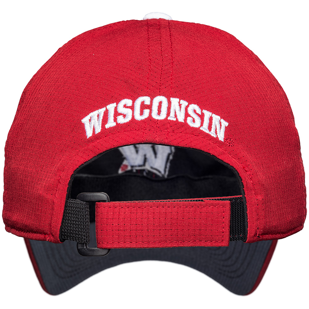 f768d6399ec ... uk under armour womens wisconsin adjustable hat red thumbnail adecd  12cca