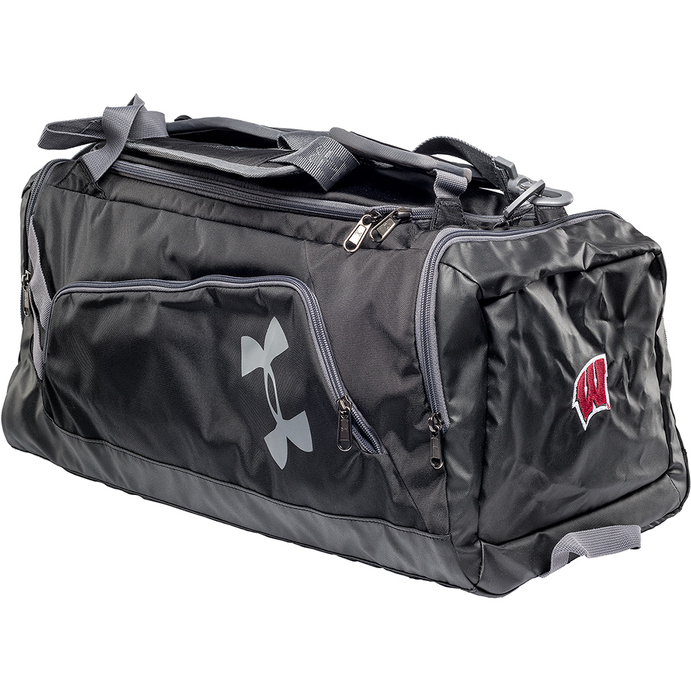5be23dd4cad64 UW Alumni Store-Under Armour Wisconsin UA Contain Duo Backpack ...