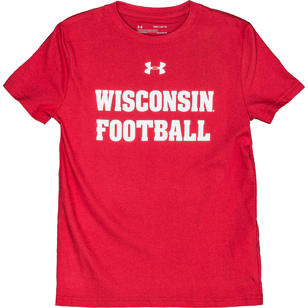 pretty nice f434f 06c1d UW Alumni Store-Under Armour Youth WI Football JJ Watt T ...