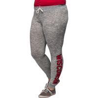 Chick-A-D Women's Wisconsin Joggers (Gray) *