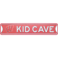 Authentic Street Signs Wisconsin Kid Cave Sign