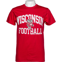 Image For Blue 84 WI Football T-Shirt 3X (Red)