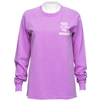 Image For Blue 84 Women's Wisconsin Long Sleeve (Purple)