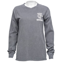 Cover Image For Blue 84 Women's Wisconsin Long Sleeve (Charcoal) *