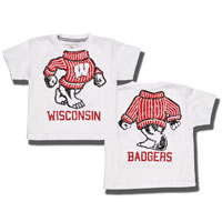 Image For College Kids Headless Bucky T-Shirt (White)