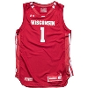 Cover Image for Under Armour Youth WI Replica Basketball Jersey #1 (Red) *