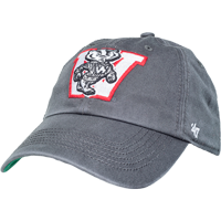Image For '47 Brand Fitted Vault Bucky Badger Hat (Charcoal) *