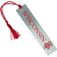 Image For Spirit Products Wisconsin Metal Bookmark