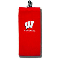 Image For Team Effort Wisconsin Motion W Towel (Red)