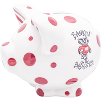 Image For Magnolia Wisconsin Badgers Piggy Bank
