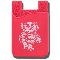 Image For Neil Enterprises, Inc. WI Cell Phone Card Holder (Red)