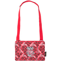 Image For Eagles Wings Bucky Badger Cross Body Bag (Red)