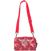 Image For Eagles Wings Bucky Badger Cross Body Wallet Bag (Red)