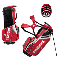 Image For Team Effort GridIron III Stand Bag (Red/White)