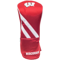 Image For Team Effort Wisconsin Golf Driver Headcover (Red)