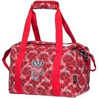 Image For Eagles Wings Bucky Badger Mini Duffle Bag (Red)