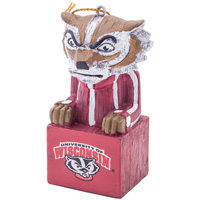 Cover Image For Evergreen Bucky Badger Ornament