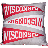 Image For League Wisconsin Pennant Pillow