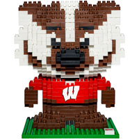 Image For Forever Collectibles Bucky Badger BRX Figure
