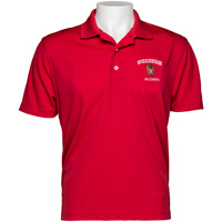 Image For Top Promotions Wisconsin Alumni Polo (Red)