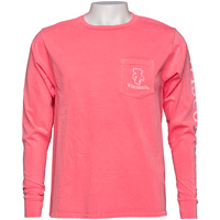 Image For Blue 84 Bucky Badger Long Sleeve T-Shirt (Coral)
