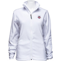 Cover Image For Antigua Women's Bucky Badger Ice Jacket (White) *