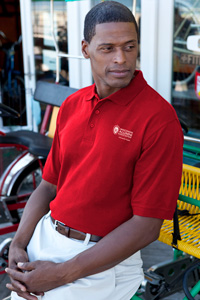 Image For Promoversity Chapter Polo (Red) 2X-3X