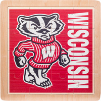 Image For Neil Enterprises, Inc. Bucky Badger Puzzle