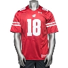 Cover Image for Under Armour WI Replica Football Jersey #18 (Red) *