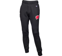 Cover Image For Champion Wisconsin Motion W Sweatpants (Black)