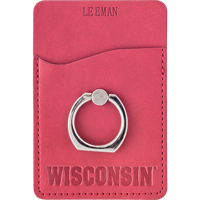 Image For Neil Enterprises, Inc. WI Phone Pocket with Ring (Red)