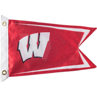 Image For Fremont Die Wisconsin Boat Flag (Red)