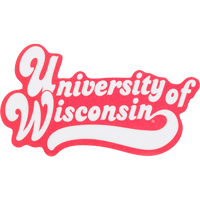 Image For Blue 84 University of Wisconsin Decal