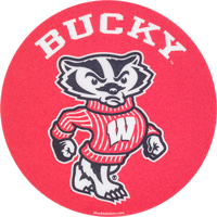 Image For Blue 84 Bucky Badger Decal