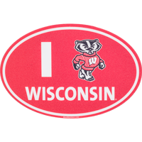 Image For Blue 84 I Bucky Wisconsin Decal