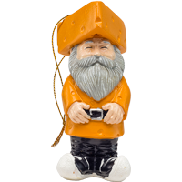 Image For Evergreen Enterprises Cheesehead Gnome Ornament