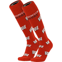 Image For TCK Comfort Wisconsin Motion W Socks (Red)