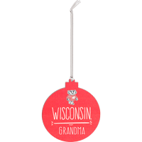 Cover Image For Legacy Wisconsin Grandma Ornament (Red)
