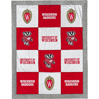 Cover Image For League Wisconsin Shield Patch Blanket (Multi)
