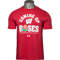 Image For 2020 Rose Bowl Game UA Coming Up Roses T-Shirt (Red) *