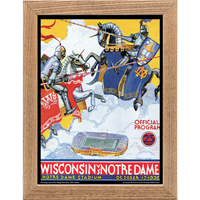 Image For Asgard Press Framed Wisconsin Print (10-17-1936)