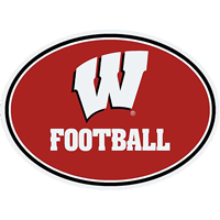 Image For CDI Corp Wisconsin Football Magnet