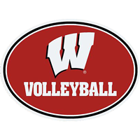 Image For CDI Corp Wisconsin Volleyball Magnet