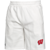 Image For Under Armour Wisconsin Lounge Shorts (White)