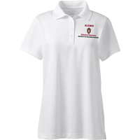 Image For Lands' End Outfitters WI Pharmacy Alumni Women's Polo (Wht)