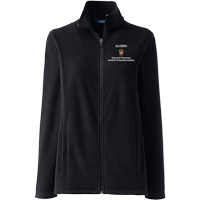 Image For Lands' End Outfitters WI Pharmacy Alumni Wms Jacket (Black)