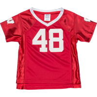 Image For BSC Toddler WI Football Jersey (Red) *