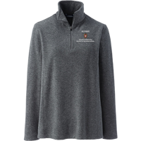 Image For Lands' End Outfitters WI Pharmacy Alumni Wms ¼ Zip (Gray)