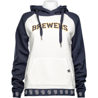 Image For '47 Brand Milwaukee Brewers Women's Hooded Sweatshirt *